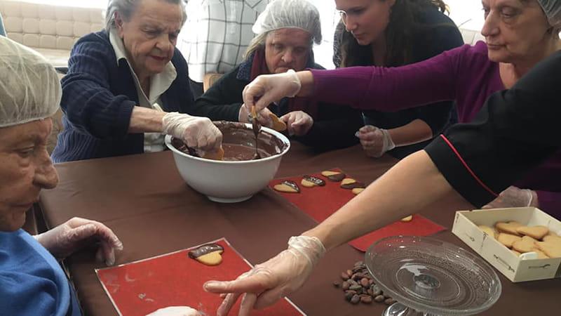 Les activités pour seniors en EHPAD.
