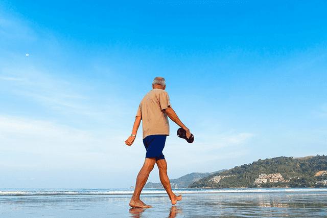 Être un retraité à Nice.