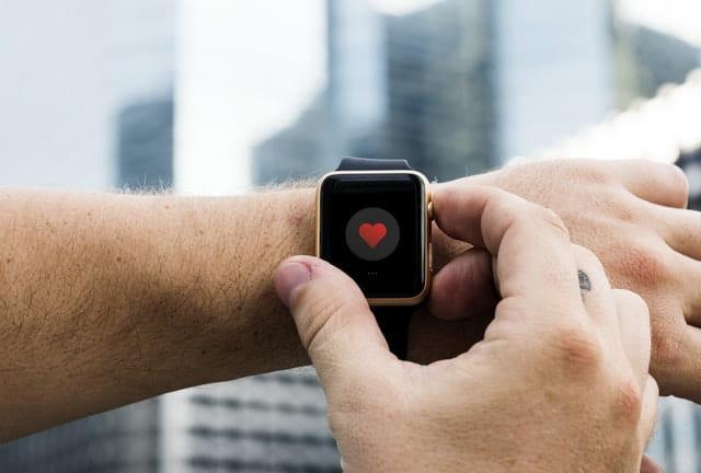 Un objet connecté avec un cœur.