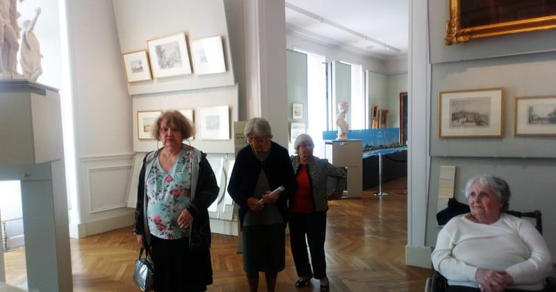 Visite de musée avec Senectis.