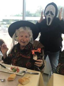 Halloween fêté chez Senectis.