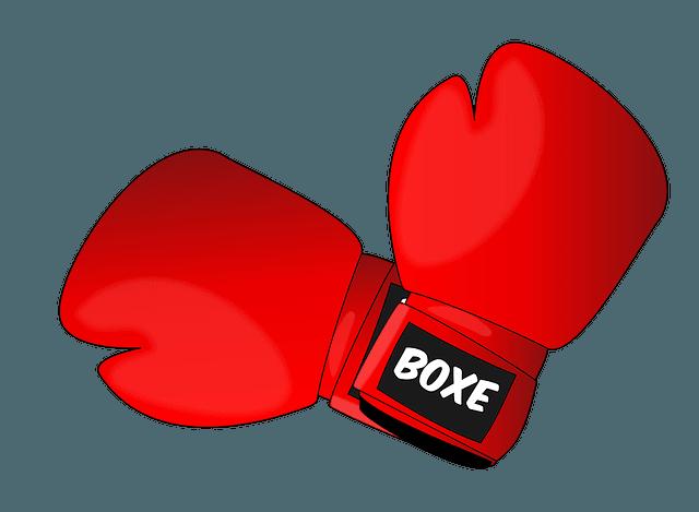 Des gants de boxe.