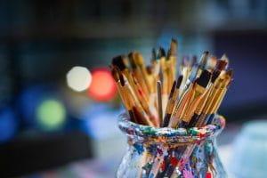 Pratiquer la peinture en ehpad
