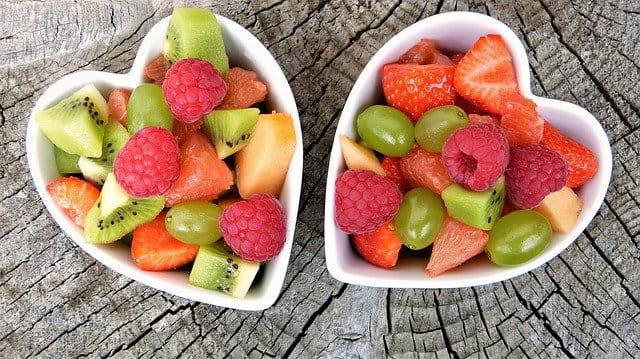 Salades de fruits.