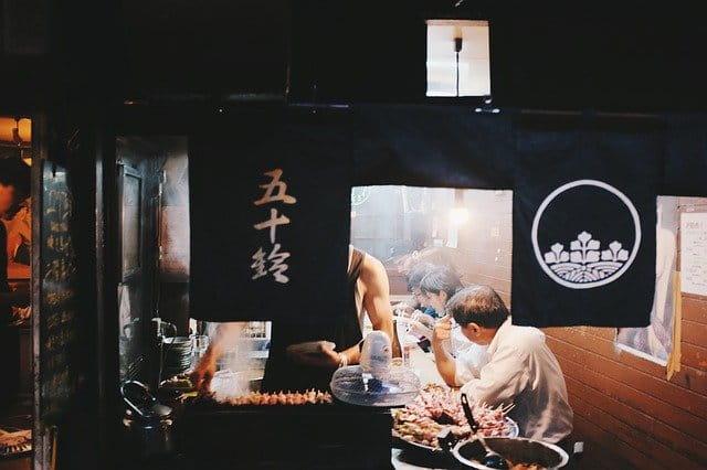 Cuisine japonaise chez Senectis.