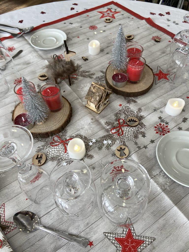 Table repas noël Senectis.