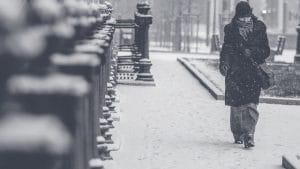 Les risques de l'hiver pour les personnes âgées