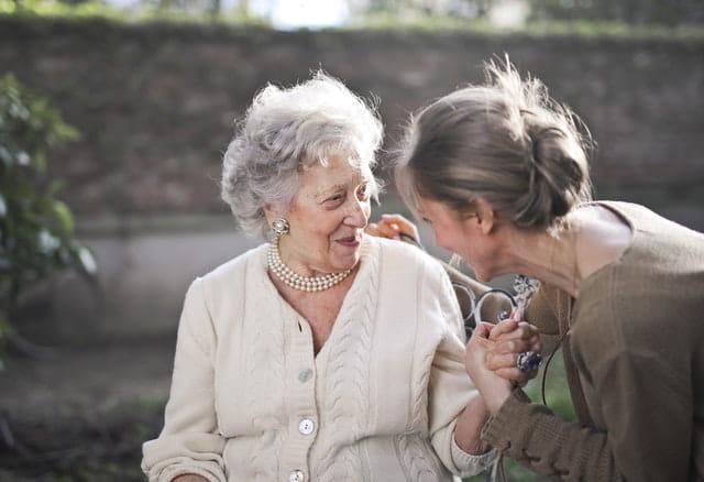Personne âgée dépendante.