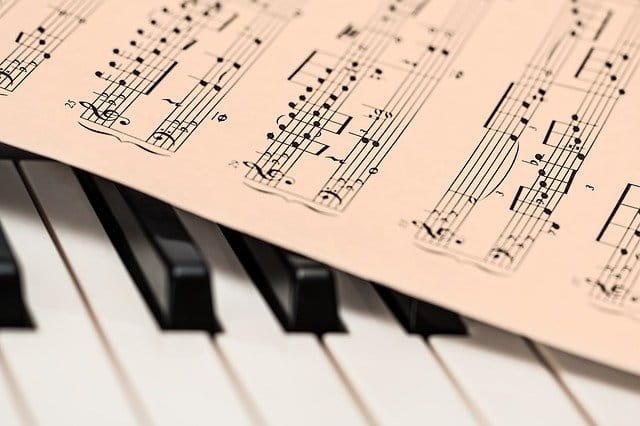 Notes sur un piano